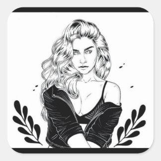 Lauren Jauregui Square Sticker