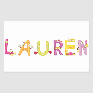 Lauren Sticker