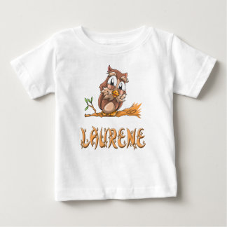 Laurene Owl Baby T-Shirt