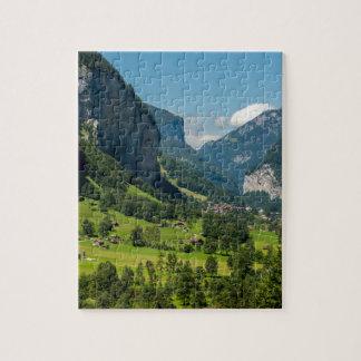 Lauterbrunnen  - Bernese Alps - Switzerland Jigsaw Puzzle
