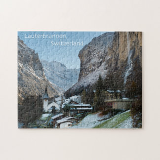 Lauterbrunnen Puzzle with Gift Box