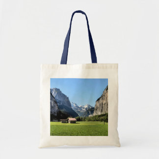 Lauterbrunnen valley, Jungfrau regionvalley Tote Bag