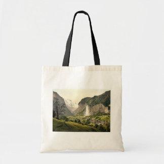 Lauterbrunnen Valley with Staubbach, Bernese Oberl Bag
