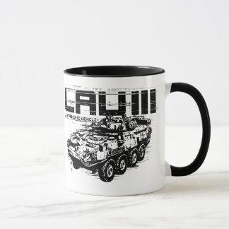 LAV III  11 oz Ringer Mug