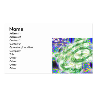 lava dreams nuclear abstract art pack of standard business cards