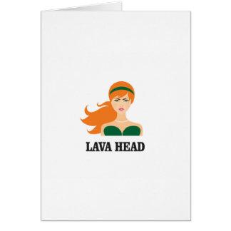 lava head woman card
