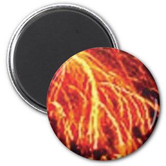 lava lightning magnet