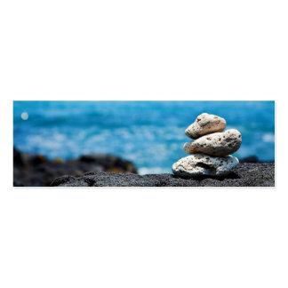 Lava Rock Coral Hawaii Ocean Tropical Beach Business Card