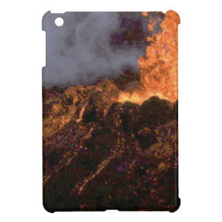 Lava splatter and flow iPad mini case