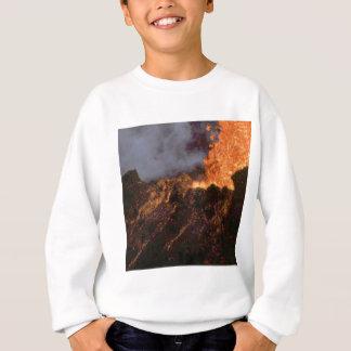 Lava splatter and flow sweatshirt