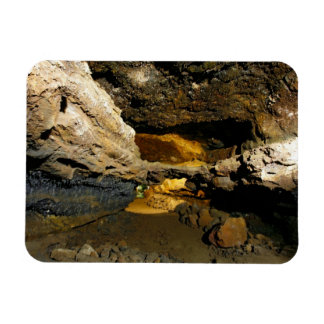 Lava tube cave magnet