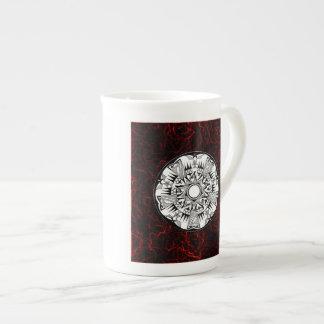 'Lava Wheel' Bone China Mug