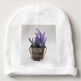 lavander baby beanie