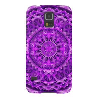 Lavander Lattice Mandala Cases For Galaxy S5