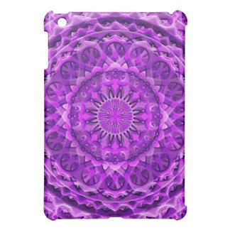 Lavander Lattice Mandala Cover For The iPad Mini