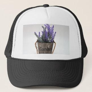 lavander trucker hat