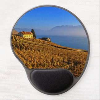 Lavaux region, Vaud, Switzerland Gel Mouse Pad