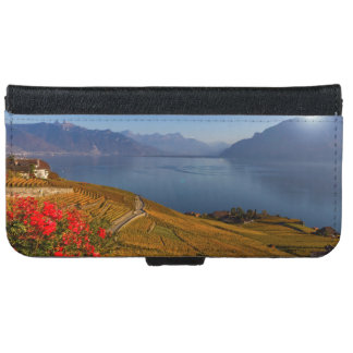 Lavaux region, Vaud, Switzerland iPhone 6 Wallet Case