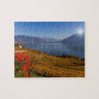 Lavaux region, Vaud, Switzerland Jigsaw Puzzle