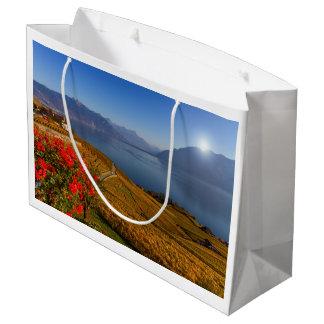 Lavaux region, Vaud, Switzerland Large Gift Bag