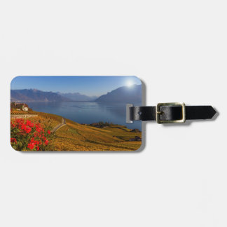 Lavaux region, Vaud, Switzerland Luggage Tag