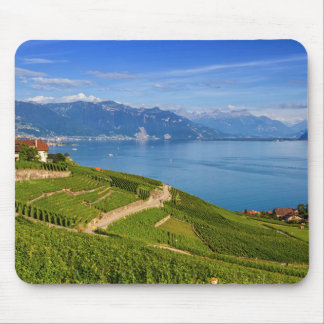 Lavaux region, Vaud, Switzerland Mouse Pad