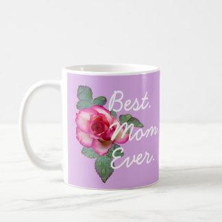 Lavendar Best Mom Ever Mug - Gift for Mom
