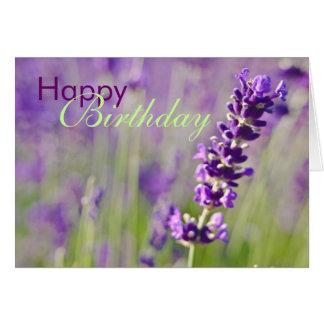 Lavendar • Birthday Card