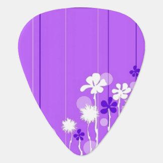 Lavendar Blooms Plectrum