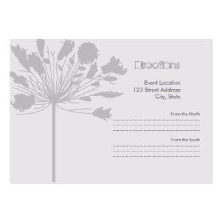 Lavendar Flora Business Cards