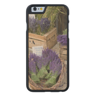 Lavendar for sale, Provence, France Carved Maple iPhone 6 Case