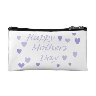 Lavendar Happy Mothers Day Cosmetic Bags