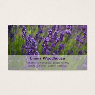 Lavendar | Lavendel Business Card