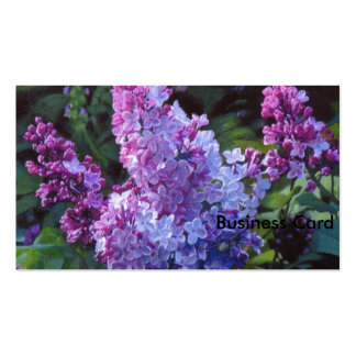 Lavendar Lilacs Double-Sided Standard Business Cards (Pack Of 100)