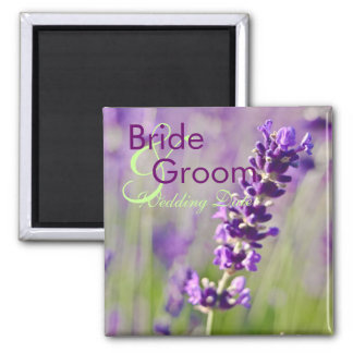 Lavendar • Save the Date Magnet