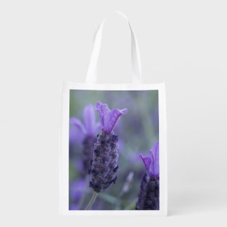 lavender-17 reusable grocery bag