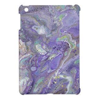 "Lavender Abstract iPad Mini Case - ""Naomi"""