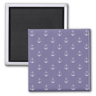 Lavender Anchors Away Magnet