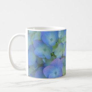 Lavender and Blue Hydrangea Mug
