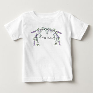 Lavender and Eucalyptus Baby T-Shirt