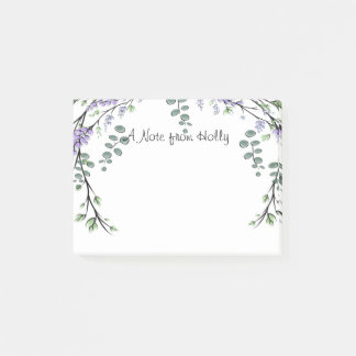 Lavender and Eucalyptus Post-it Notes