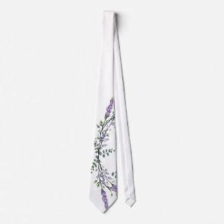 Lavender and Eucalyptus Tie