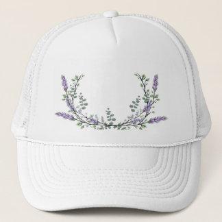Lavender and Eucalyptus Trucker Hat