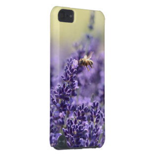 Lavender and Honey Bee iPod Touch 5G Cover