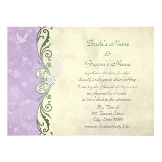 Purple And Yellow Wedding Invitations 1000 Purple And Yellow Wedding Invites Amp Announcements