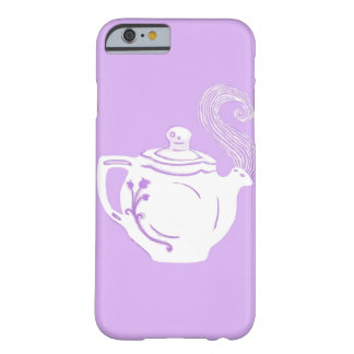 Lavender and White Teapot iPhone 6 Case Barely There iPhone 6 Case