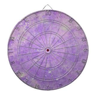 Lavender Artistic Marbling Pattern Dartboard