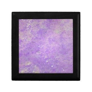 Lavender Artistic Marbling Pattern Gift Box