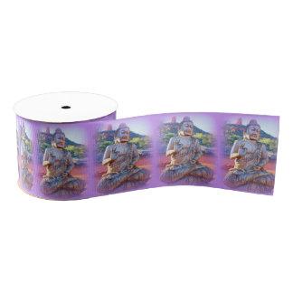 lavender aura buddhas grosgrain ribbon