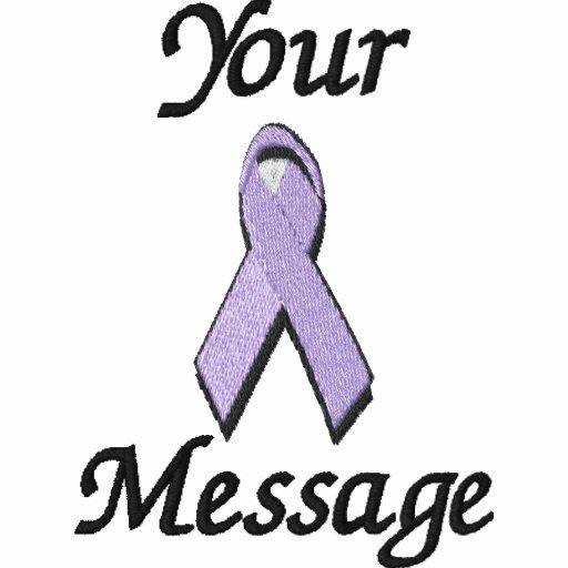 Lavender awareness ribbon - Customize